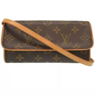 💯 Authentic LOUIS VUITTON Pochette Twin Shoulder Bag.