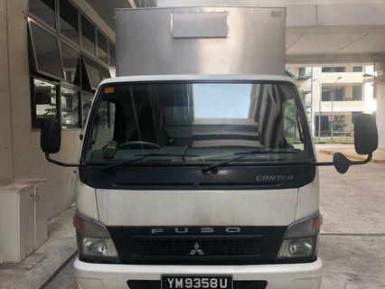 Mitsubishi Fuso  14ft for rental Box / tailgates