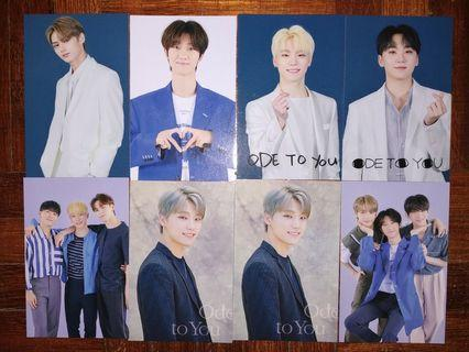 SEVENTEEN ODE TO YOU PHOTOCARDS