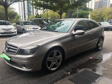 Mercedes-Benz CLC180 Paddle Shift gear 3 Modes Gear Low mileage Tip top condition Selling at RM11,500 siap