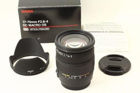 """Sigma 17-80mm f2.8-4 use for canon """"like new one """""""