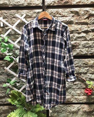 SALE!! Flanel Shirt Tunic