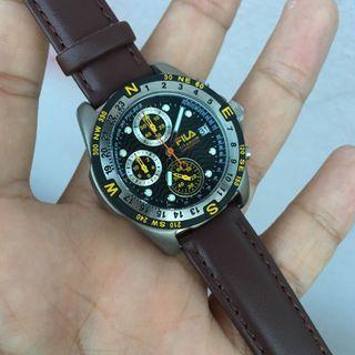Jam Chrongraph FILA original watch