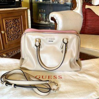 Guess bag mocca pink leather ORIGINAL 100%