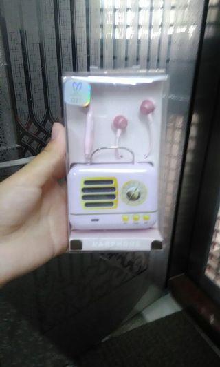 耳機(有付耳機收納盒)
