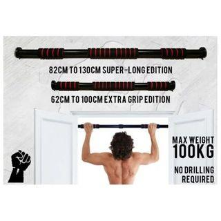 Pull Up Bar / Doorway Pull Up Bar / No Drilling Required Pull Up Bar