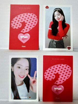 [WTS] Twice 'What is Love' Dahyun Photocard