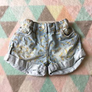 TU Denim Banana Shorts