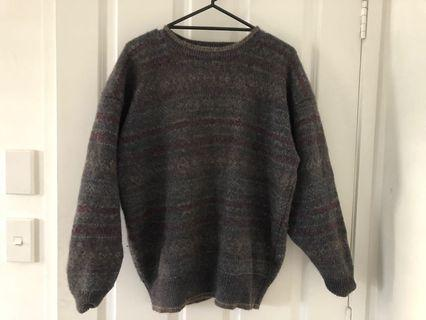 retro wooly jumper