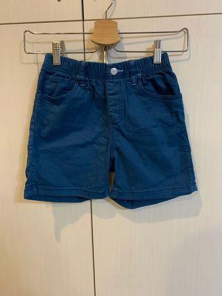 二手Lativ 藍色棉短褲