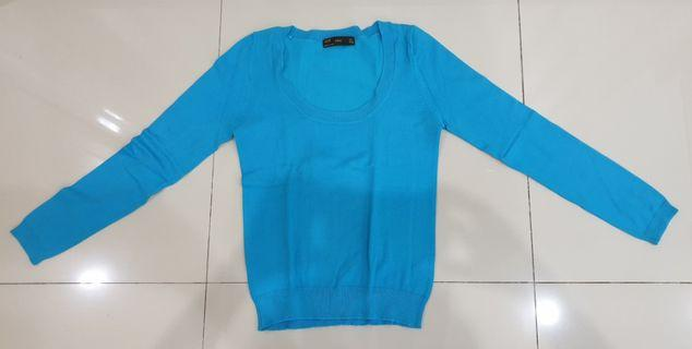 Sweater Zara wrn Blue