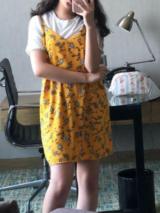 COTTON ON yellow floral dress