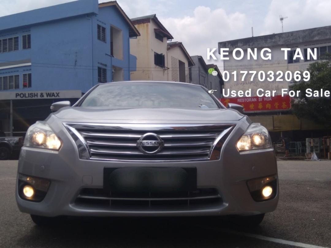2014TH🚘NISSAN TEANA 2.0AT XL CVT FULL SPEC/Push Start🎉LowMILEAGE 6XxxxKm🚘Cash OfferPrice💲Rm64,800 Only‼LowestPrice InJB 🎉📲 Keong‼🤗