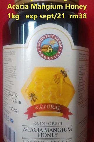 Country Farm Organics Acacia Mangium Honey 1kg