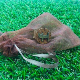 Cat Leather Ring