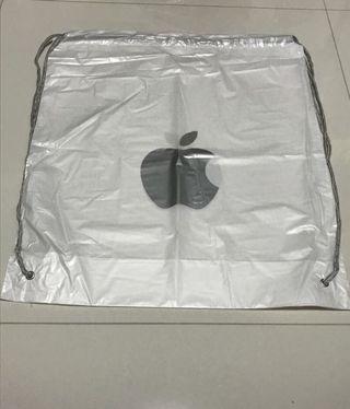 BN Cheapest on Sale Apple Waterproof Plastic Drawstring Bag Apple Bag for Apple Fans