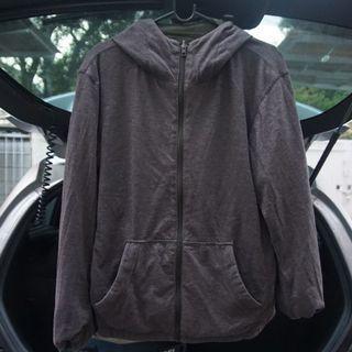 Uniqlo Reversible Parka Jacket, Jaket Bolak Balik