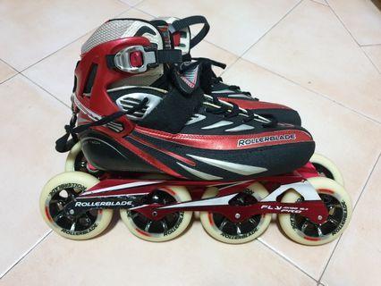 Rollerblade Marathon carbon speed skate size US9/EU42 (4 x 100mm)