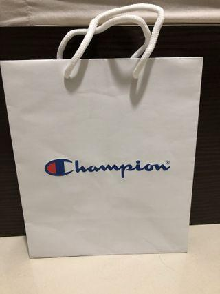 Champion Paper bag