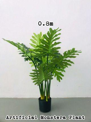 ARTIFICIAL PLANT MONSTERA 0.8 METER