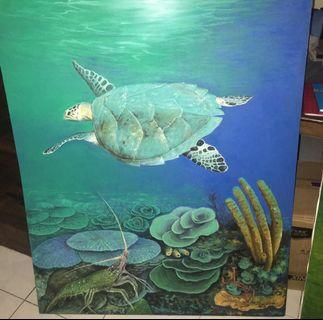 Art / Lukisan Lobster Pengerang Mersing