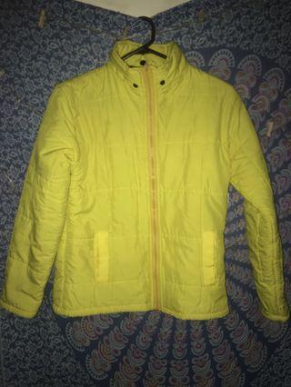 Jaket Kuning Tebal