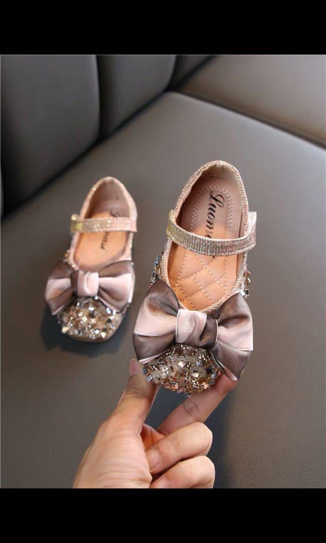 女童閃閃公主鞋