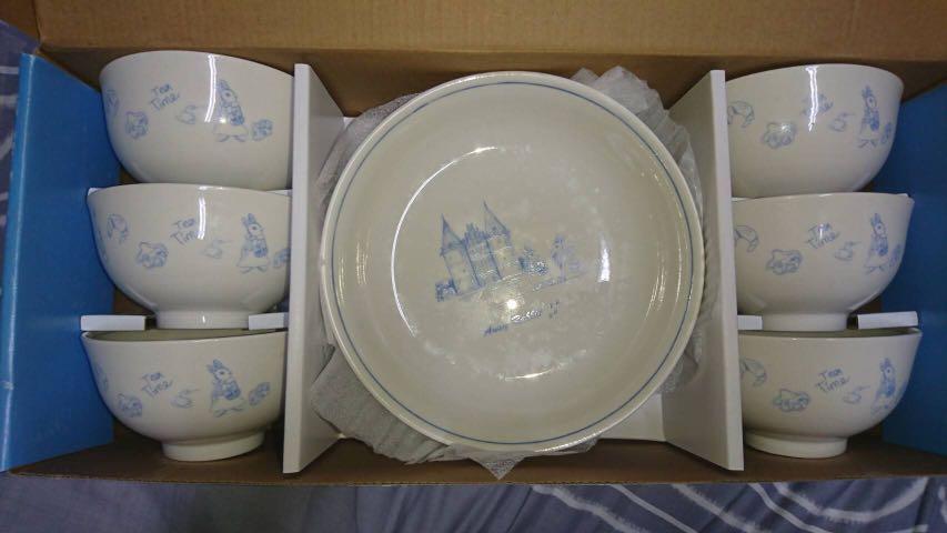安妮兔碗盤組