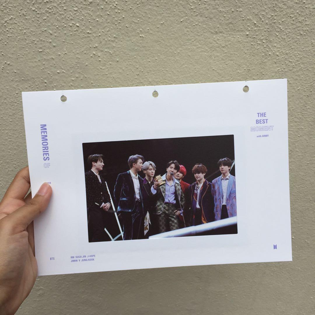 [ WTS ] BTS Memories 2018 Official Postcard