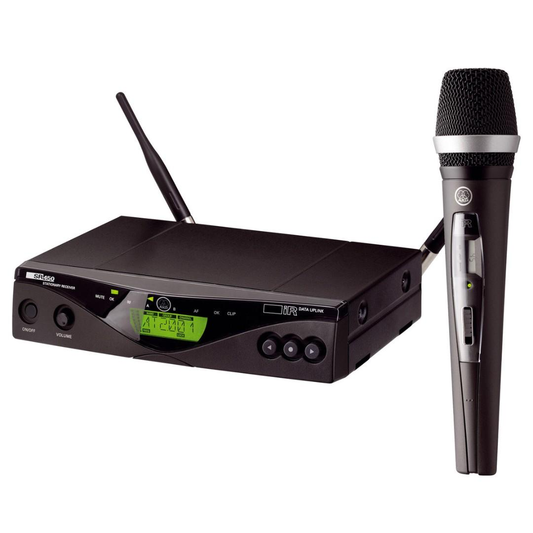 AKG WMS450 Wireless Vocal Set D5 microphone system 無線 無線咪套裝 無線咪 無線MIC MIC 無線microphone  Wireless  無線 MIC  無線Wireless SET