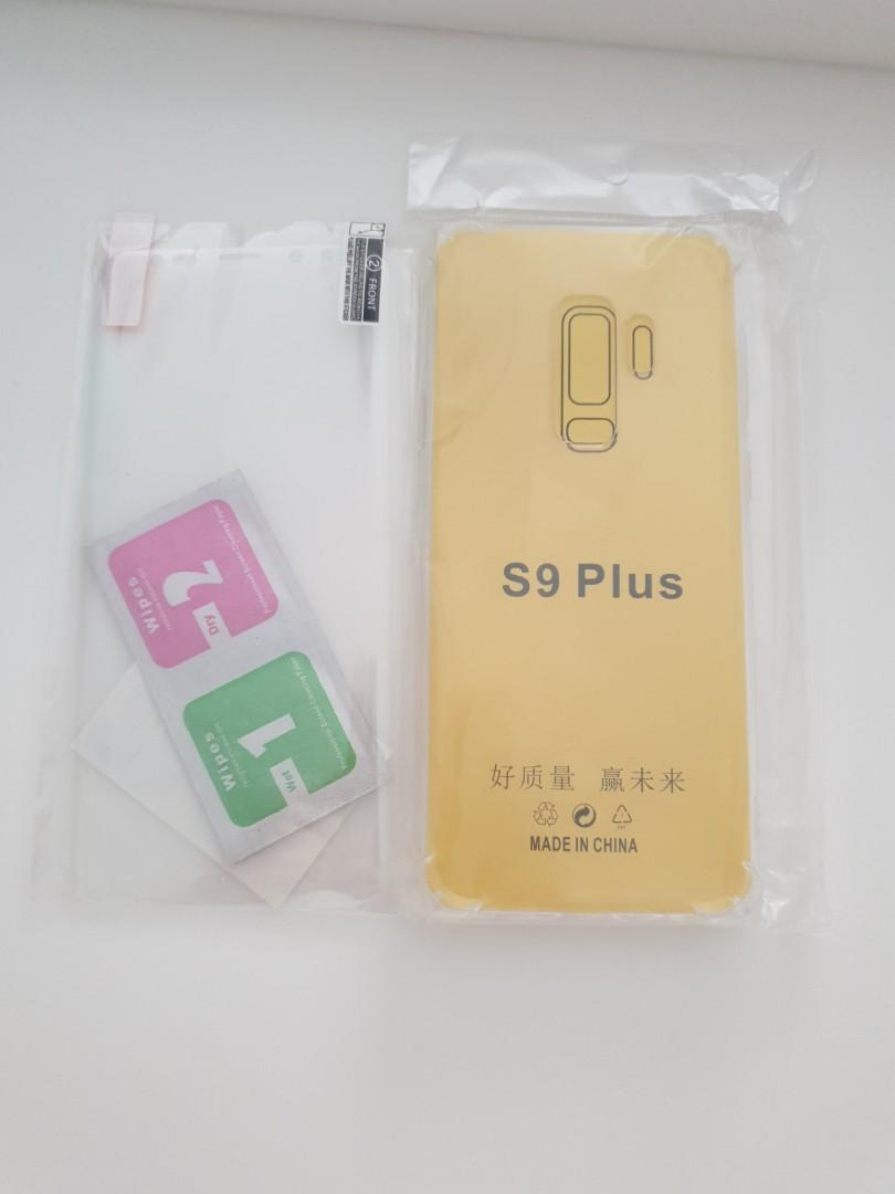 Brand new clear casing + film s9+