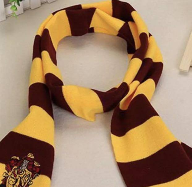 Brand New Halloween Harry Potter Cosplay Gryffindor Slytherin Hufflepuff Ravenclaw Scarf Costume