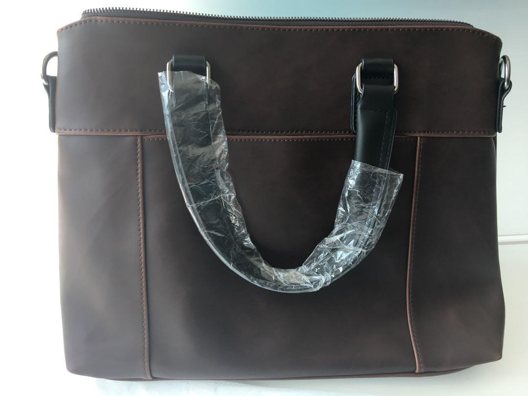 CASUAL Leather Business Messenger Bag