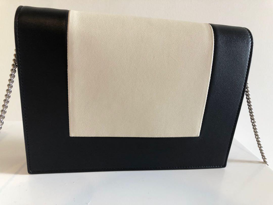 Celine frame wallet on chain Discontinued authentic