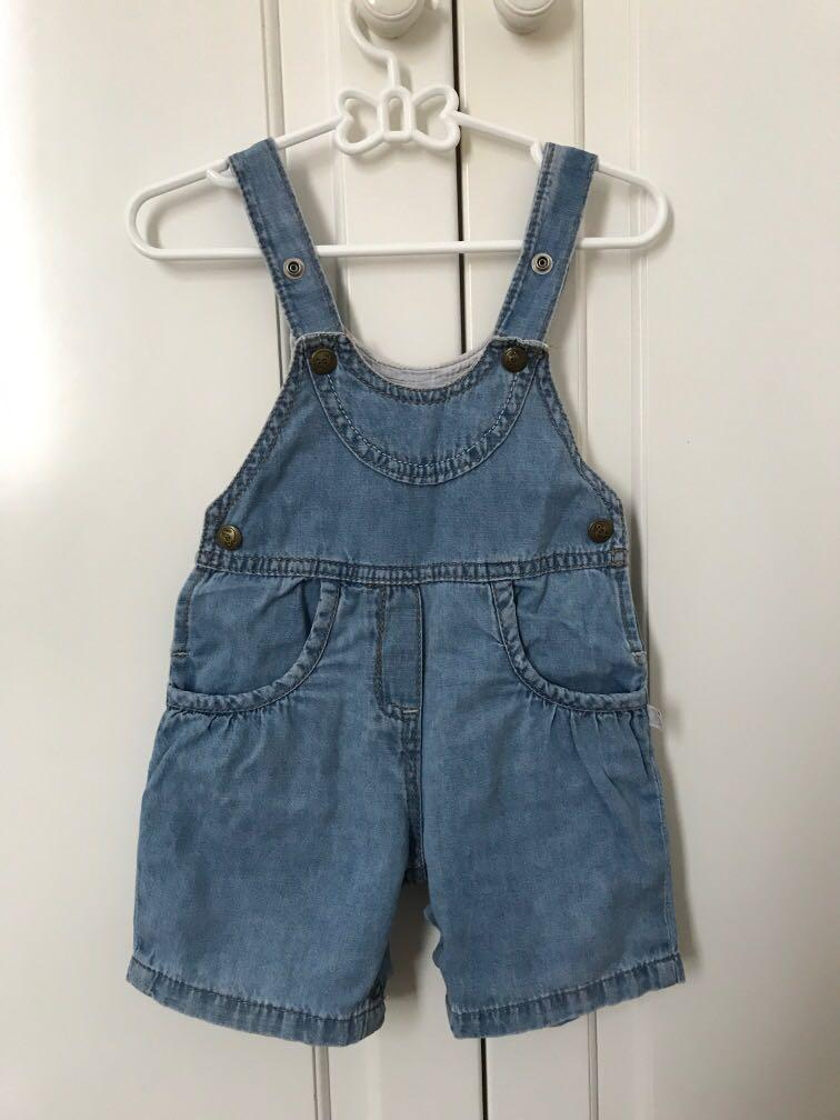 Cool Unisex Denim Overall