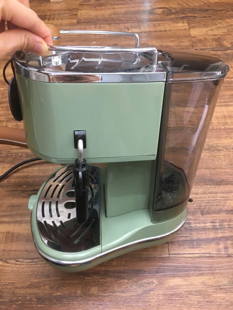 Delonghi 咖啡豆 咖啡機 可打奶泡 有原裝盒Coffee machine 已過保 De'longhi ECOV311.GR