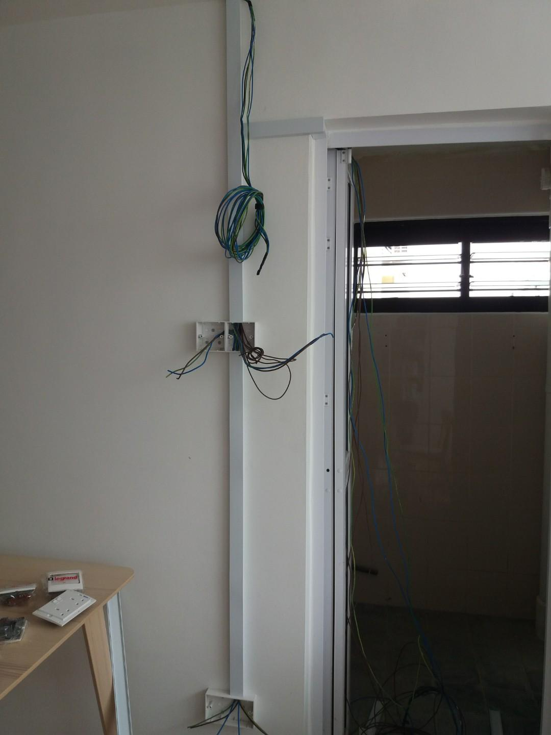 Electrician & Painting Service.