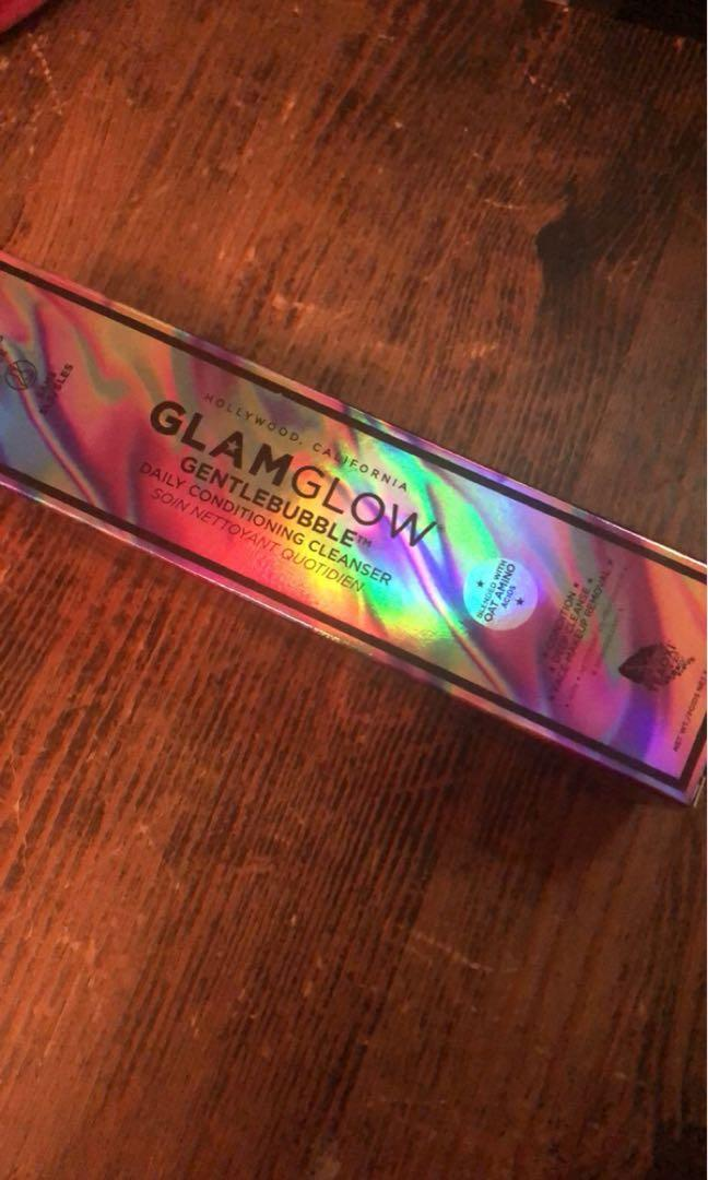Glam glow cleaner