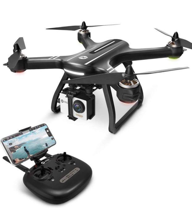 Holy Stone Hs700 Fpv Drone With 1080p Hd Camera Live Video And Gps Return Home Rc Quadcopter For Adults Beginners With Brushless Motor Follow Me 5g Wifi Transmission Compatible With Gopro Camera
