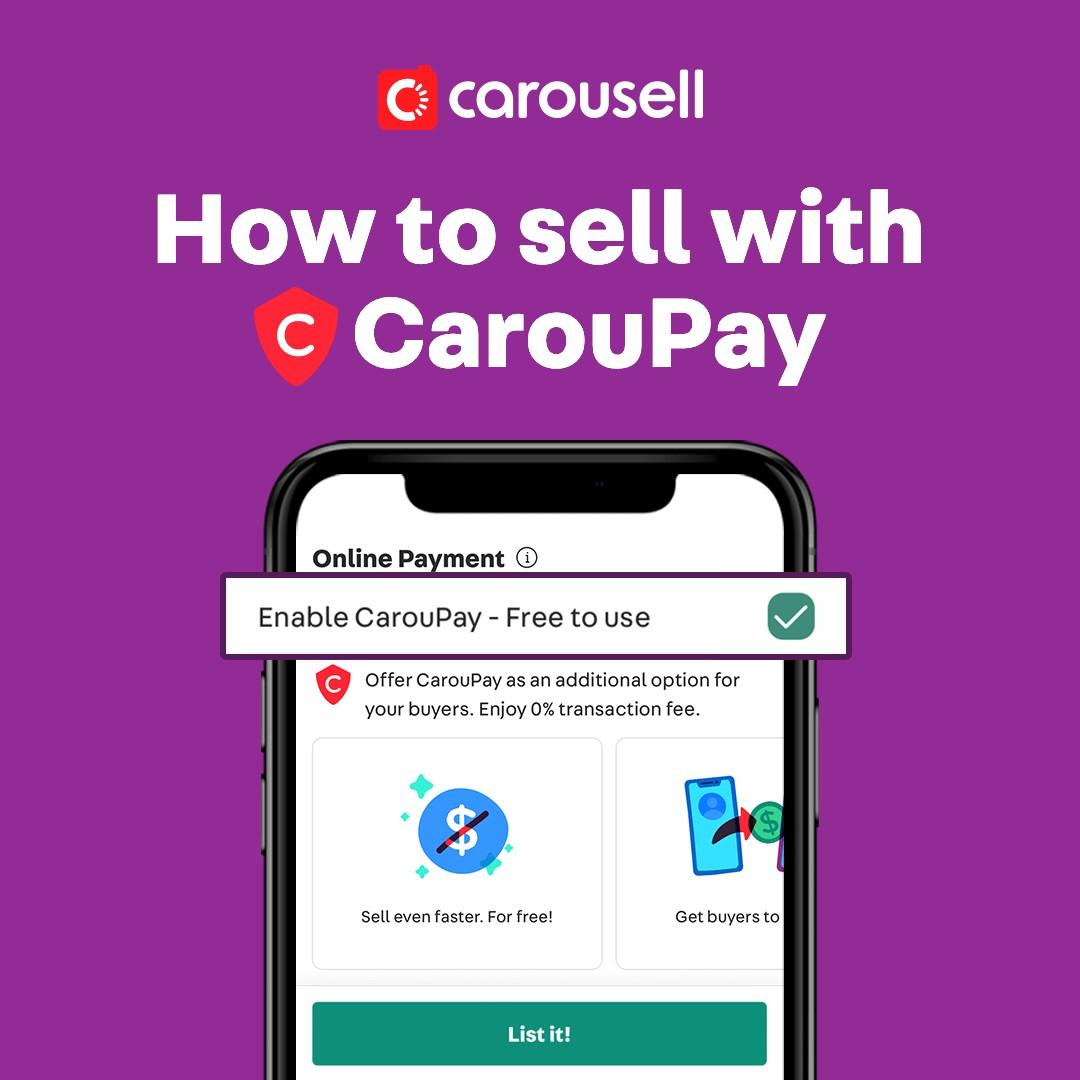 How do I sell with CarouPay?