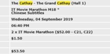 IT Movie Marathon M18*