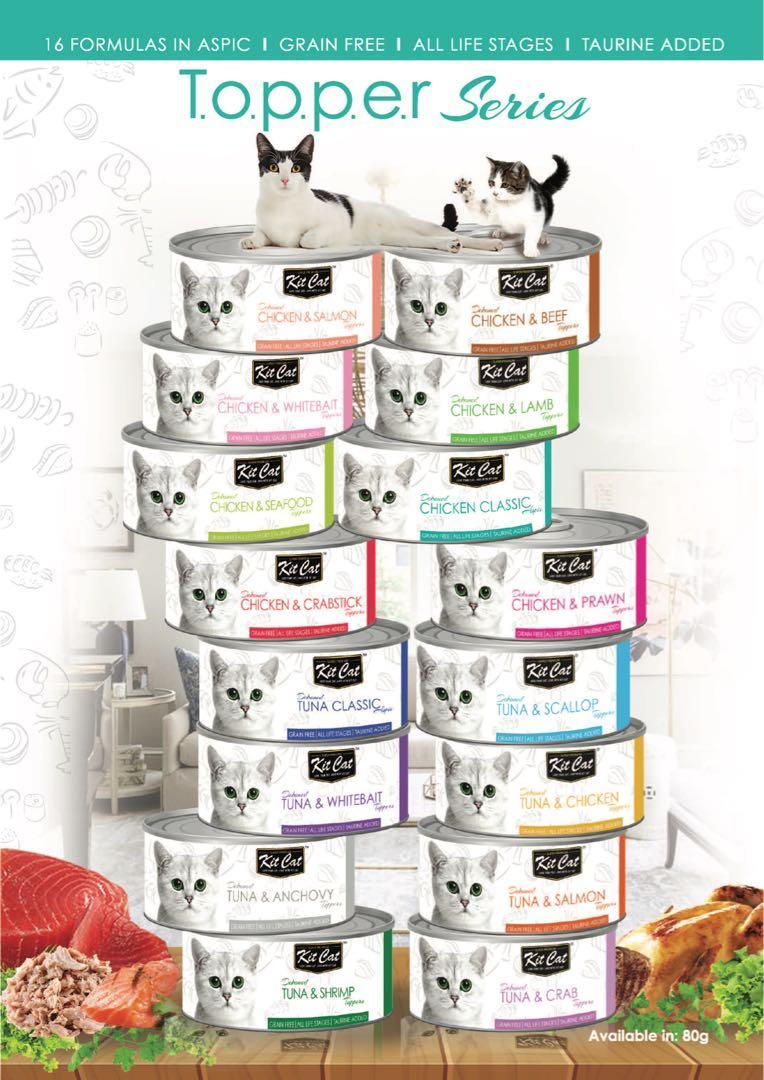 Kit cat wet food 80g $0.95