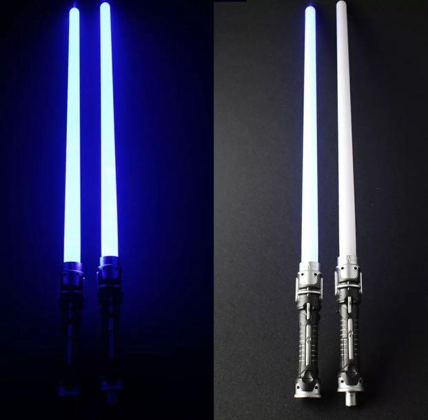Lightsaber DoubleLED Flashing Sabers Light For Star Wars Toys