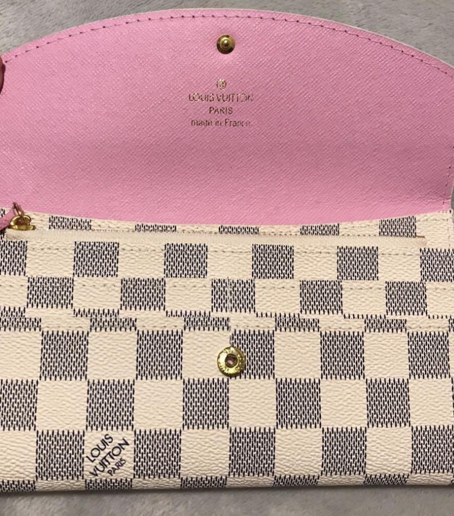 LOUIS VUITTON - Leather Emilie Wallet - *Moving Sale