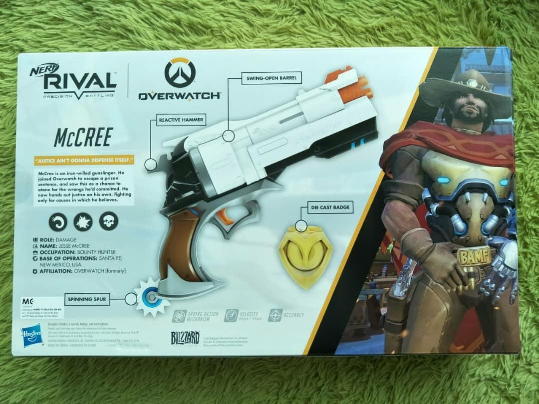 Nerf Rival McCree Nerf Gun