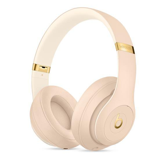 NEW Beats Studio3 Wireless Headphones – The Beats Skyline Collection - Desert Sand