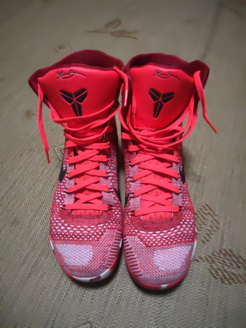 promo code bcd42 e1be1 Nike Kobe 9 elite christmas, Sports, Sports Apparel on Carousell