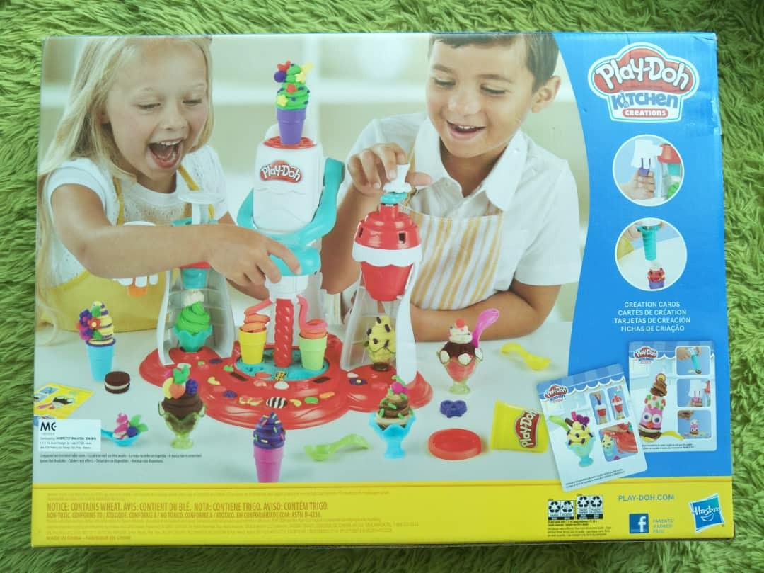 Playdoh Kitchen Creations Ultimate Swirl ice cream maker