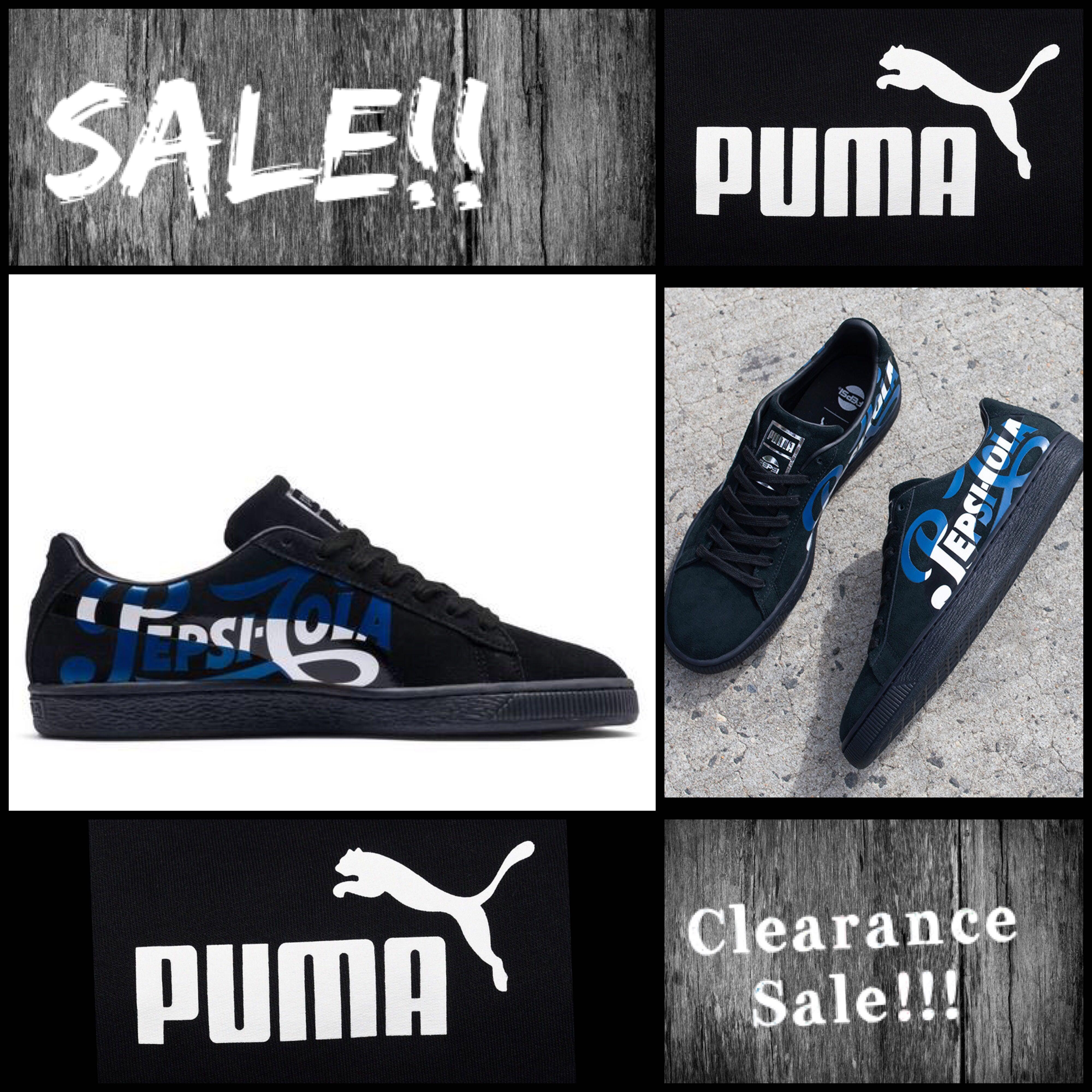 best website e059f 21b8e Puma Pepsi Cola in Black, Men's Fashion, Footwear, Sneakers ...