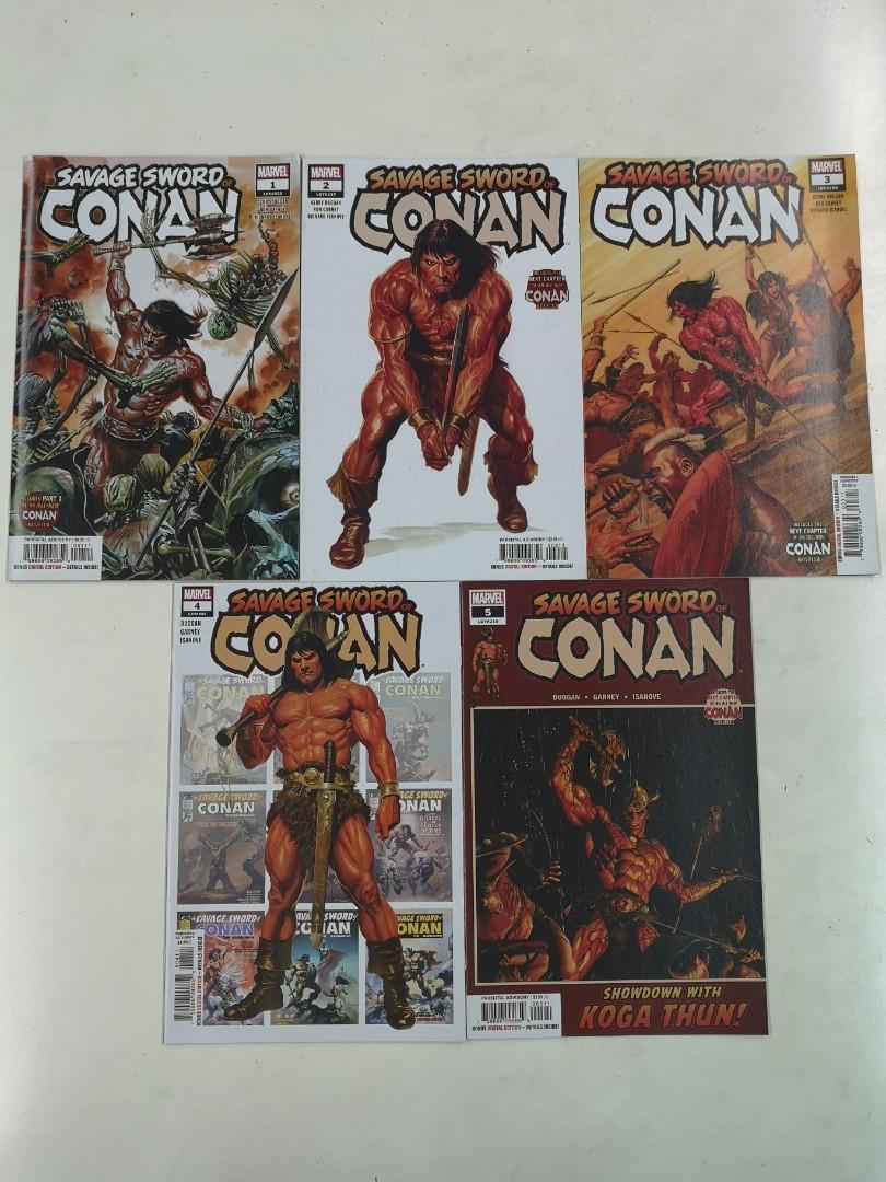 Savage Sword of Conan 5 2019 Alex Ross Main Cover 1st Print Marvel Comics NM